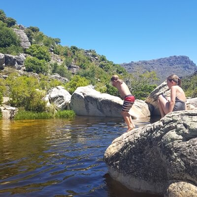 the river swim and wine tour - the wine specialists - winelands sounth africa